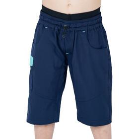 Cube Junior Shorts Baggy Incuye Culotte Corto Interior Niños, azul